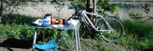 Mountainbike Picknick