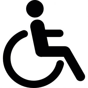Rollstuhl-Icon