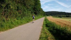 Cityroller Grafenau-Döffingen Radweg Weil-der-Stadt