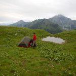 Zelten auf 2000m Höhe