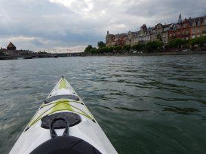 Zweierkajak Bodensee bei Konstanz