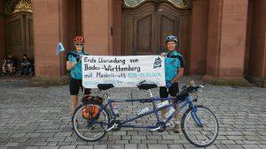 Mannheim schloss erste umrundung Baden-Württembergs