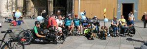 Im Rollstuhl durch Ulm mit Rollstuhlsportlern der TSG Söflingen