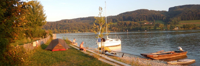 Zelten am Bodensee