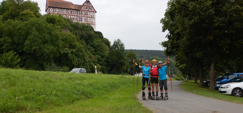 Nordic-Cross-Skates von Freudenberg nach Homburg Main
