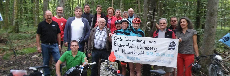Östlichster Punkt Baden-Württembergs bei Demmingen