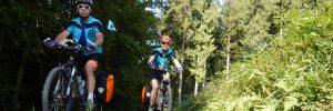Umrundung Baden-Württembergs mit Mountainbikes durch den Odenwald